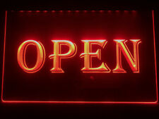 Open Shop Display Cafe Business Led Neon Light Sign gift decor bar pub size 8x12