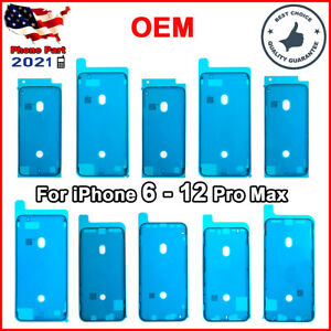 Screen Frame Seal Waterproof Adhesive For iPhone 12 11 Pro XS Max XR X 8 7 Plus