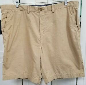 NWT Tommy Hilfiger Classic Fit Tan Shorts 42W Men's