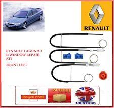 ELECTRIC WINDOW REGULATOR REPAIR KIT FRONT LEFT FOR RENAULT LAGUNA 2 II