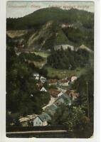 AK Triberg, Schwarzwald, Bahnblick unterh. Bachjörg, 1915