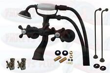 Clawfoot Tub Faucet Package Oil Rubbed Bronze CCK265ORB - Less Drain