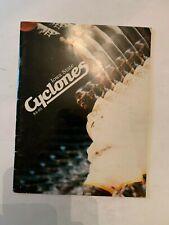 1984-85 Iowa State Cyclone Basketball Media Guide