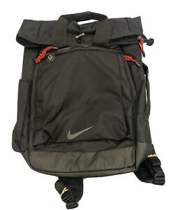 Nike Sport Bag style backpack BA5784-010 black with red accents new without tags