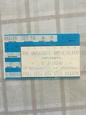 Vintage Al Jarreau concert ticket stub (1986), Universal Amphitheater