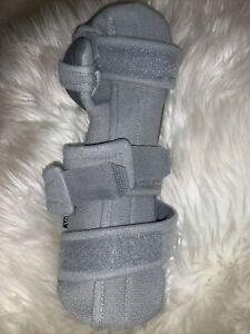 Vive Night Wrist Splint Brace Left Grey Hand Pain Relief SleepSupport Wrap Small
