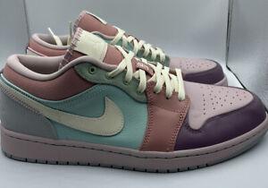 Nike Air Jordan 1 Low SE Easter Pastel Champagne Coconut Milk DJ5196-615 sz 12