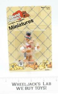 Pound Puppies Miniature Barkerville MOSC Tonka Employee Owned 1986