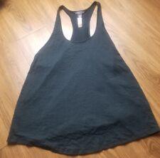 Victoria's Secret Sport Black Tank Top Workout Shirt Size M/L