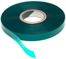 Green Plant Tape Vinyl To Tie Tree Garden Vegetable Support Flagging Ribbon Roll
