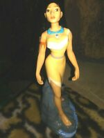 POCAHONTAS TRADITIONS CERAMIC PORCELAIN DISNEY STORE FIGURINE,NEW MINT,w/Sticker