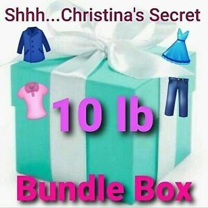 Womens BUNDLE RESELLER WHOLESALE LOT Clothing Box X POUND MIXED SIZES  10 lb