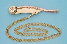Nautical Whistle-Bosun's pipe - Boatswain's Whistle Copper & Brass