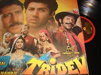 Classic Bollywood LP VINYL Record Soundtrack of Hindi Indian Film TRIDEV