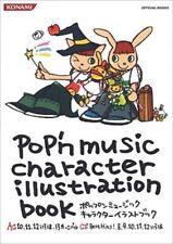 POP'N MUSIC JAPAN CHARACTER ILLUSTRATION BOOK 2006 GAME KONAMI