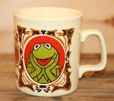 The Muppet Show Coffee Mug Kermit Rare 1978 Vintage Kiln Craft Very Nice +