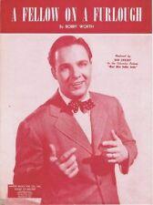 A Fellow On Furlough, Bob Crosby, WW II Music, 1943