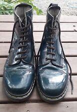 Original Unisex Doc Martens LaceUp Boots Dark Green Aus Womens Size11/Mens Size9