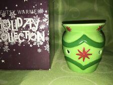 Scentsy Green Ornament Nightlight Plug-in Warmer Retired RARE