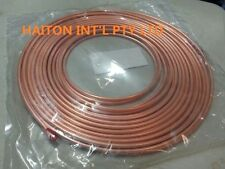 """copper pancake coil  1/4"""" x 1M roll,air conditioning pipe tube"""