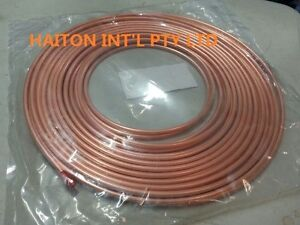 """*copper pancake coil  1/4"""" x 30M roll,air conditioning pipe tube"""