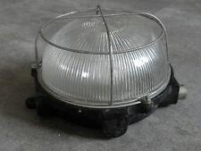 Lámpara Bombilla Luz Industrial Vintage Jaula Lámpara Colgante de Techo Bauhaus Accesorio Antiguo