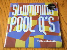"""SWIMMING POOL Q's - PRETTY ON THE INSIDE  7"""" DOUBLE PACK VINYL PS"""