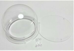 Clear Acrylic Box Bell for Product Show Display Case Toys Dustproof Bottom Cover