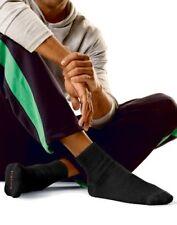 Hanes Men`s Full Cushion Ankle Socks 12-Pack, 10-13 Sock/6-12 Shoe, Black