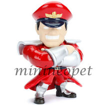 "JADA TOYS 98063 STREET FIGHTER 4"" METALS DIECAST FIGURE M. BISON M307"