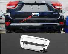 Chrome Rear Door Tailgate Handle Cover Trim for Jeep Grand Cherokee 2011-2016