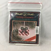 Mill Hill Holiday Ornament Counted Glass Bead Kit Gift Package
