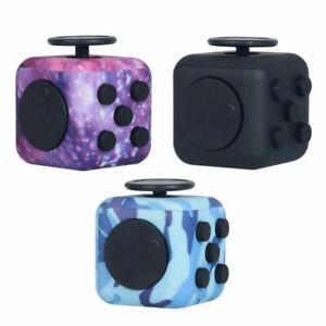 Figit Fidget Cube UK Fiddle Toys Figet Dice Stress Cubes Adult Kids Gadget NEW