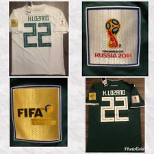 *FIFA WORLD CUP 2018 * HIRVING LOZANO  * MEXICO AWAY-HOME JERSEY