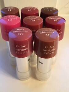 ELIZABETH ARDEN Color Intrigue Effects Shimmer Lipstick ~ U PICK ~ Tester Tube