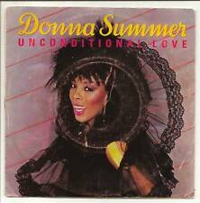 """SUMMER Donna  45T 7"""" SP  UNCONDITIONAL LOVE - WOMAN"""