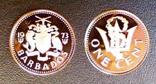 BARBADES 1 CENT 1973 PROOF