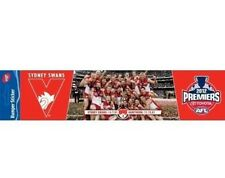 Sydney Swans AFL 2012 Premiers Player Image Bumper Sticker 30cm new stock