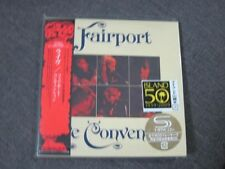 FAIRPORT CONVENTION A live JAPAN MINI LP SHM CD SANDY DENNY DAVE SWARBRICK SEAL