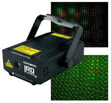 Laser Iro laser Verde e rosso 130mW. Ghost - illuminazione di sera multipunto