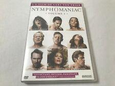 RARE DVD NYMPHOMANIAC (CHARLOTTE GAINSBOURG/LARS VON TRIER/WILLEM DAFOE)