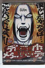 Detroit Metal City Anime ntsc import dvd
