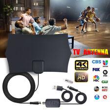 Professional 30dB Indoor Antenna HD 1080P 4K TV Antena Cable HDTV Aerials