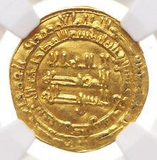 ABBASID. Al-Radi, Gold Dinar, AH 324, NGC Unc Details