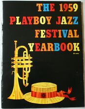 Rare 1959 Playboy Jazz Festival Yearbook Chicago Stadium Program