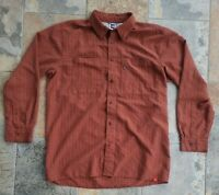 The North Face Long Sleeve Button Up Shirt Men's Size XLarge Red Checkered