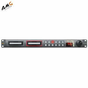 New Blackmagic Design HyperDeck Studio 12G Professional Broadcast