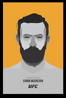 Conor Mcgregor Minimal Art Poster Print Glossy 8x10 Hologram & Numbered MMA Judo