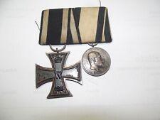 #2er Ordensspange EK2 - Tapferkeitsmedaillie Württemberg Orden Alemania