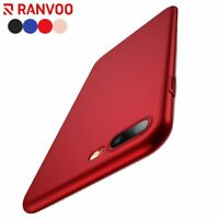 For iPhone 8 7 Plus Case Cover Hard PC Ultra Slim Fit Matte Silky Touch Luxury